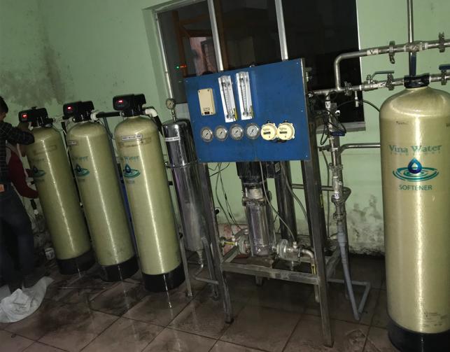 Hệ thống lọc nước RO cho Y tế